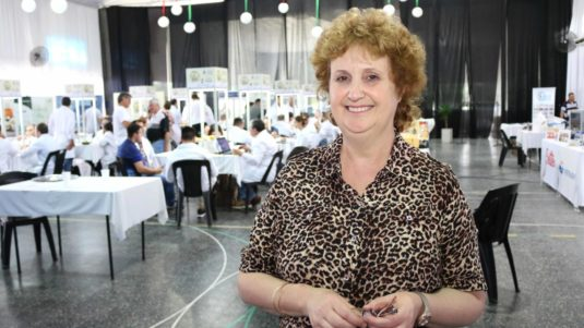 Graciela Maritano (Integrante de la Comisión de la Fiesta Nacional de la Leche)