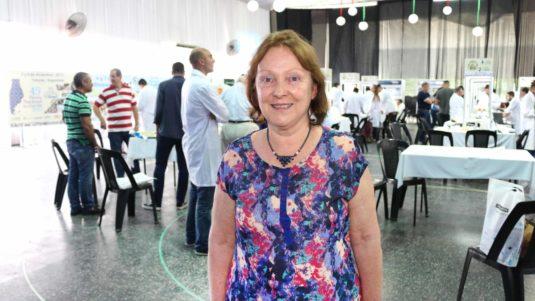 Ing. Haydee Montero (Ex Jurado del Concurso de Quesos)
