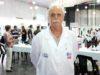 Sergio Borbonet (Técnico en Lechería) en el Concurso de Queso Azul