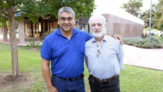 Sergio Herrera y Javier Ledesma (Jurado del 10° Concurso de Quesos)
