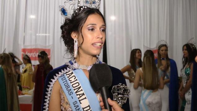 Luisina Rosales (Reina saliente de la Fiesta Nacional de la Leche)