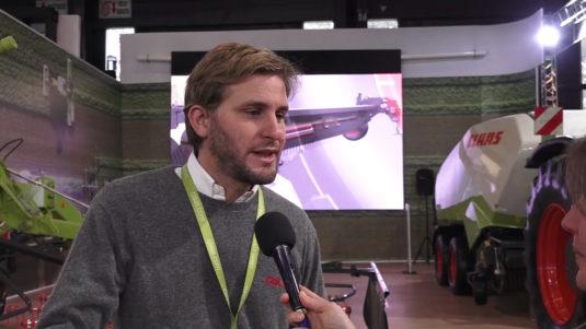 Federico Sánchez (Especialista de producto Claas)