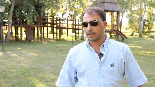 Ing. Agr. Franco Torres (Especialista de Protección Vegetal de AFA Cañada de Gómez)