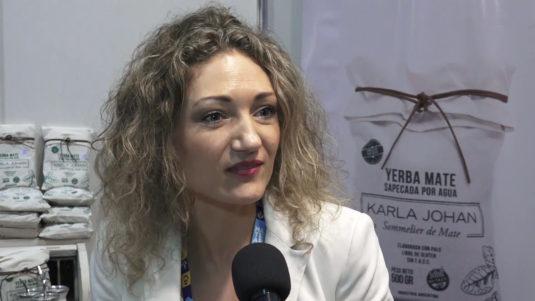 Karla Johan Lorenzo (Sommelier de yerba mate)