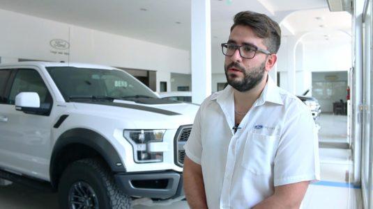 Gonzalo Balbuena (Vendedor Ford Juan B. Bessone) – Nueva Ford Raptor F150